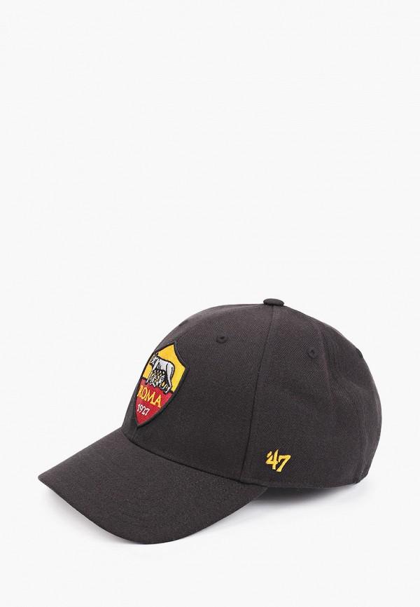 женская бейсболка '47 brand, черная
