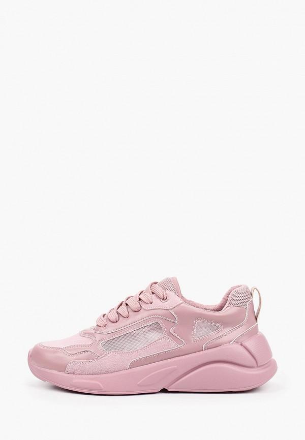 женские низкие кроссовки keddo, розовые