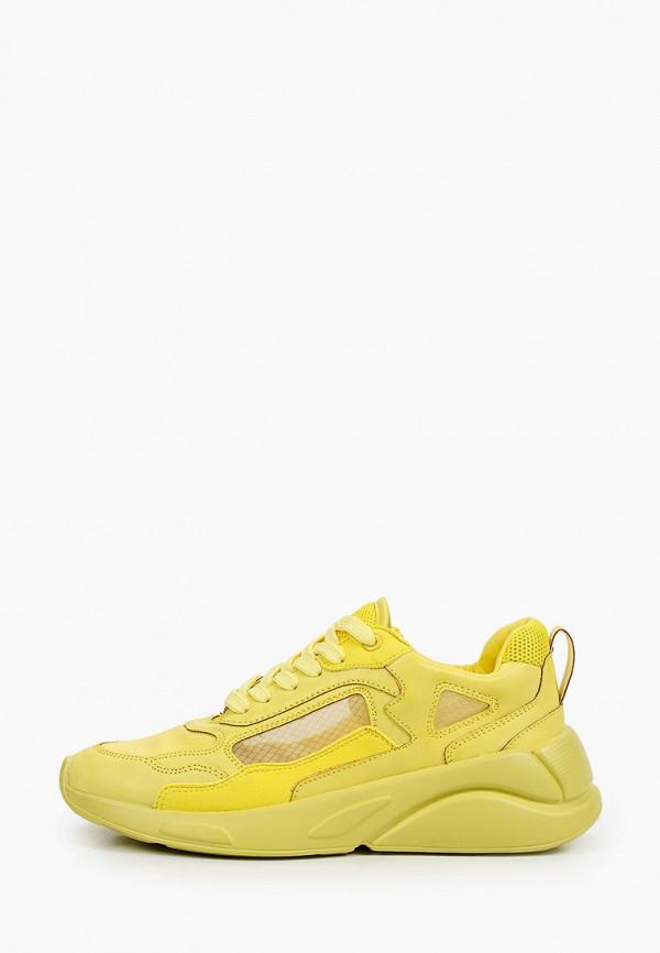 женские низкие кроссовки keddo, желтые