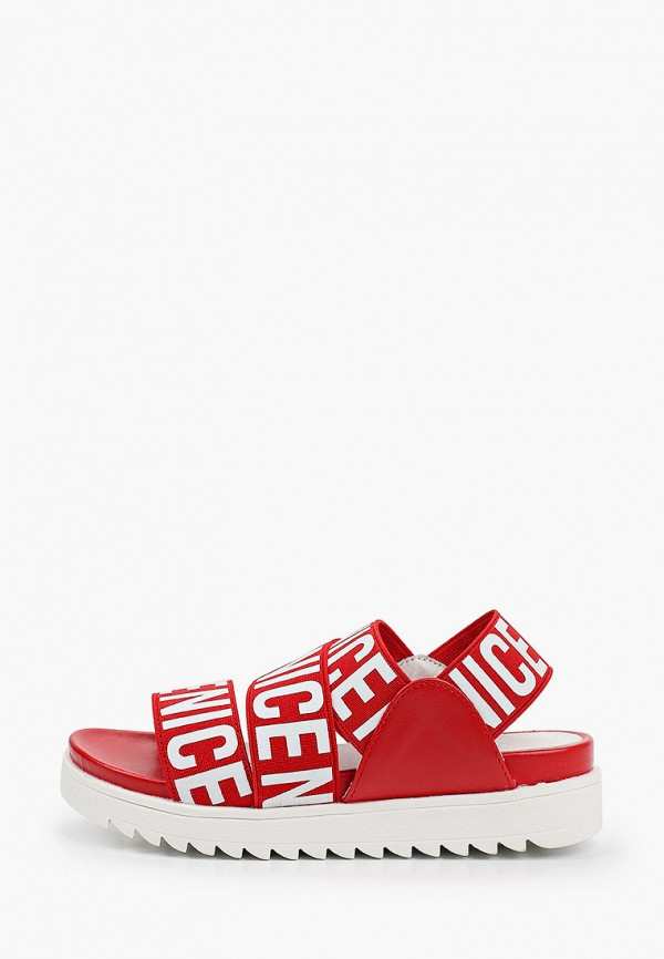 сандалии betsy для девочки, красные
