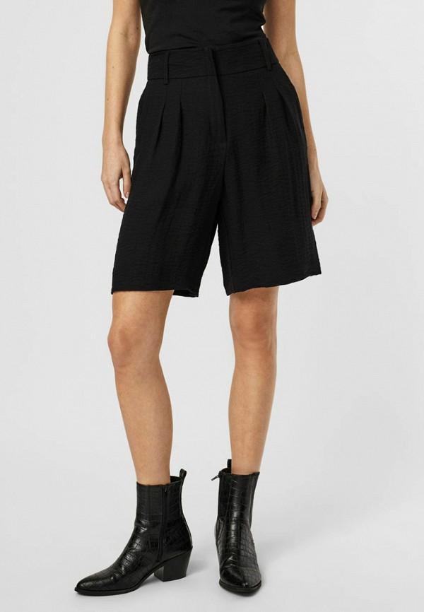 женские повседневные шорты vero moda, черные