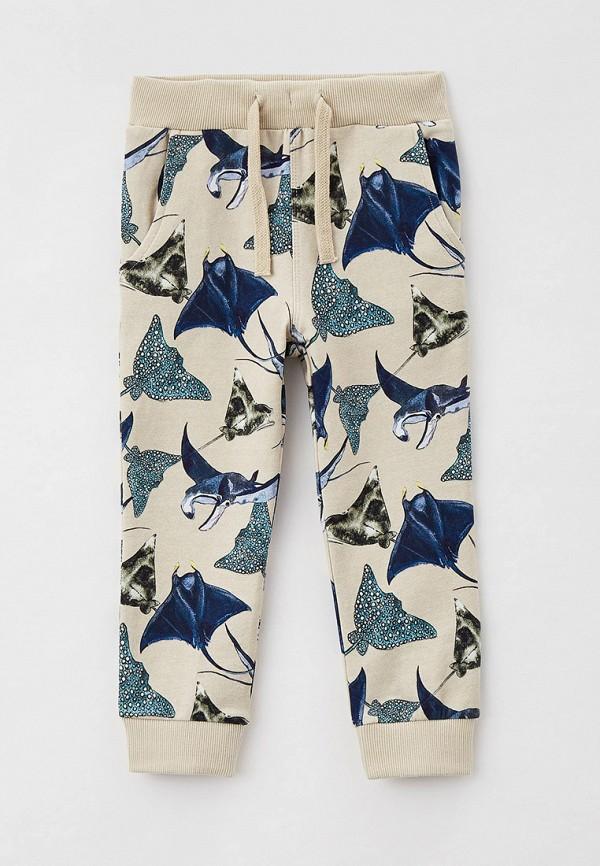 спортивные брюки name it для мальчика, бежевые