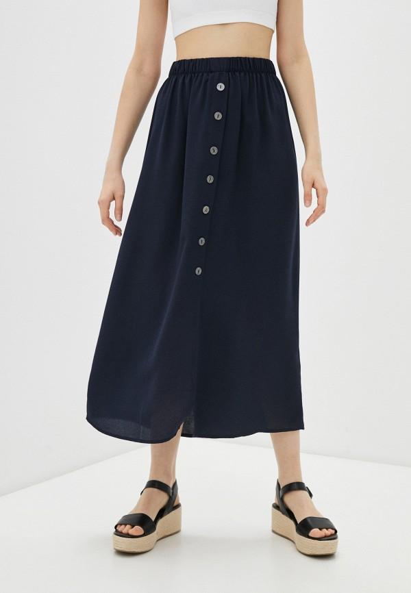 женская юбка only, синяя