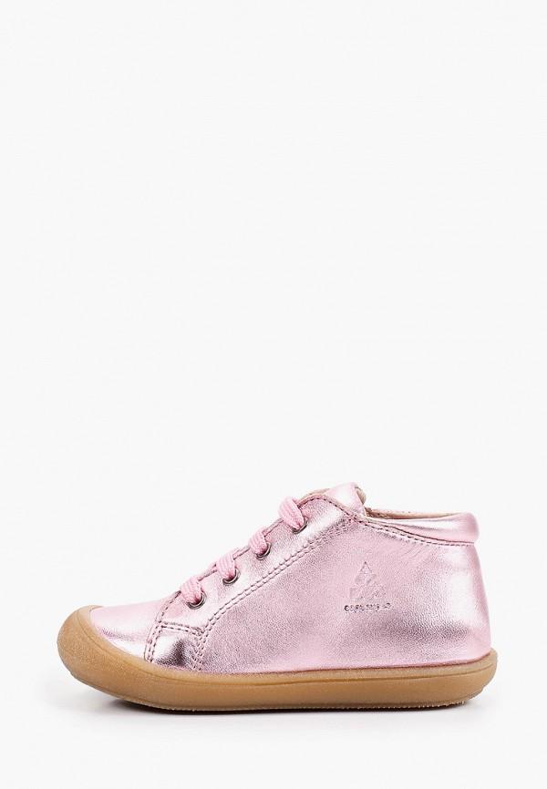 ботинки acebo's для девочки, розовые