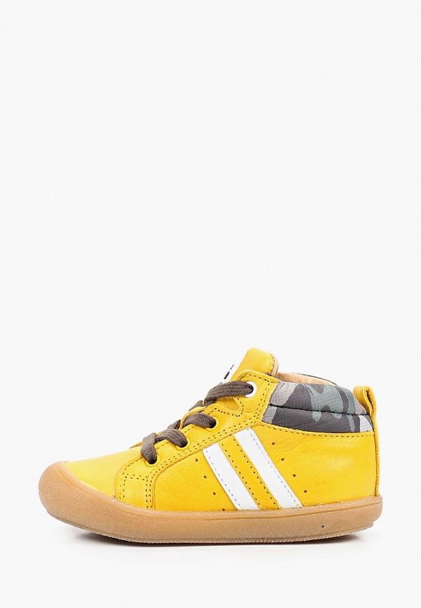 ботинки acebo's для девочки, желтые