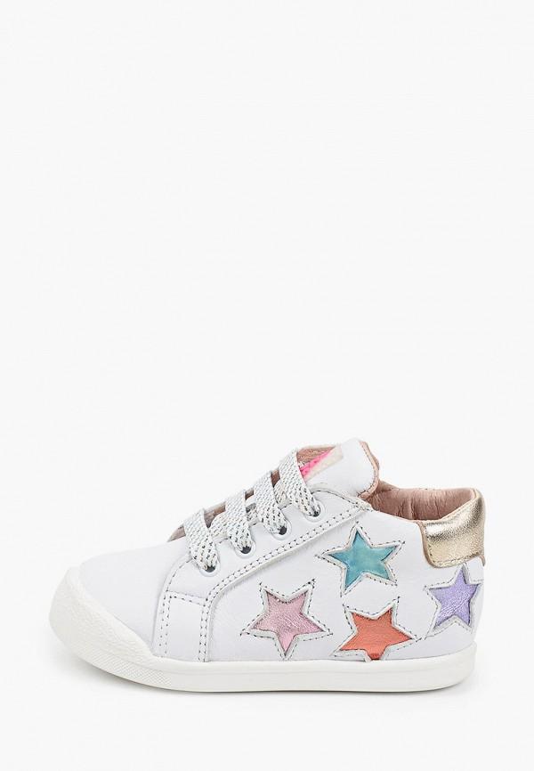 ботинки acebo's для девочки, белые