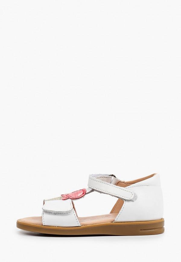 сандалии acebo's для девочки, белые