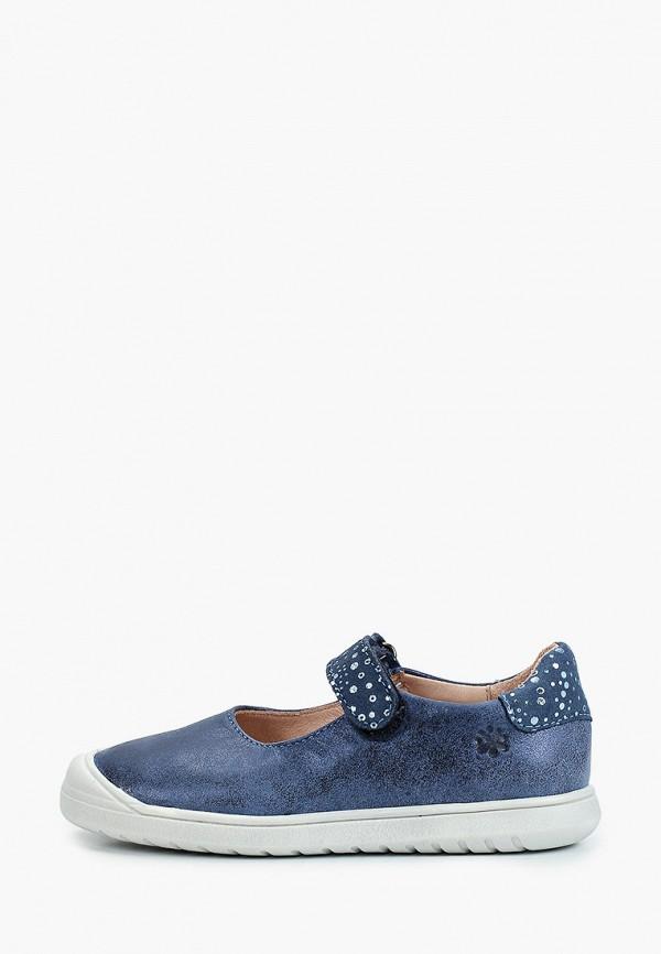 туфли acebo's для девочки, синие