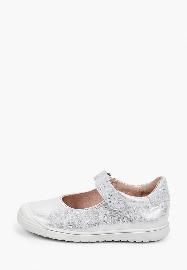 туфли acebo's для девочки, серебряные