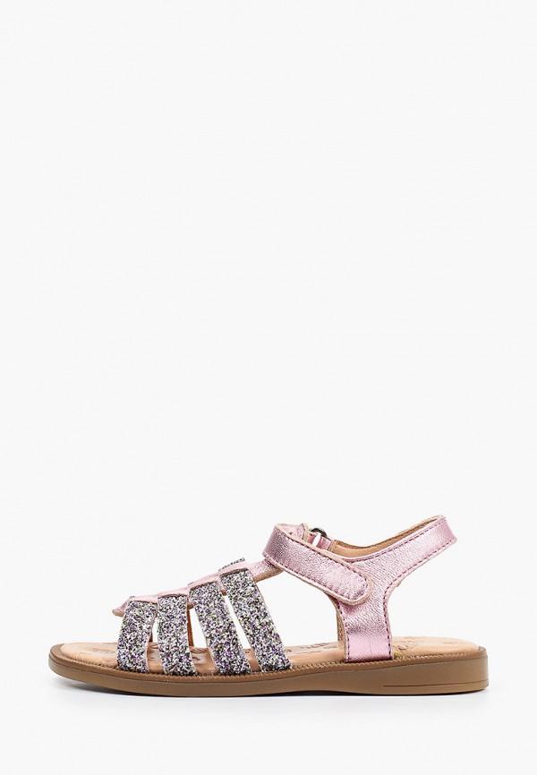 сандалии acebo's для девочки, разноцветные
