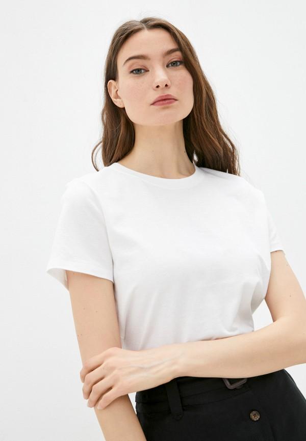 женская футболка banana republic, белая