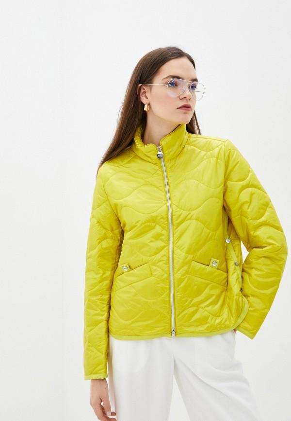 женская утепленные куртка betty barclay, желтая