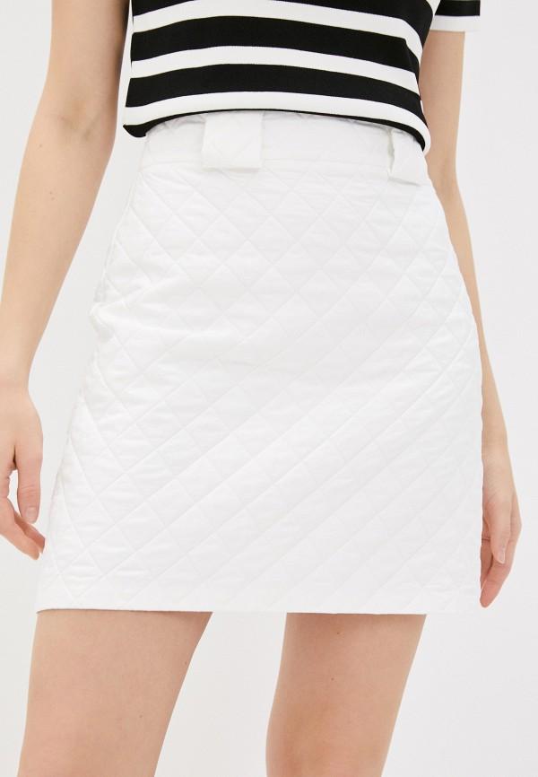 женская юбка adl, белая