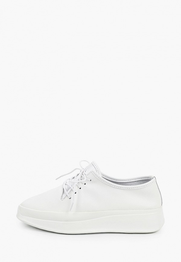 женские низкие ботинки der spur, белые