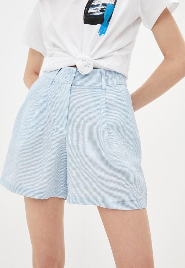 женские повседневные шорты armani exchange, голубые