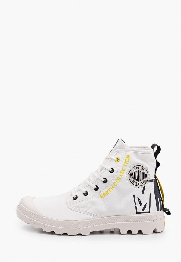 мужские ботинки palladium, белые