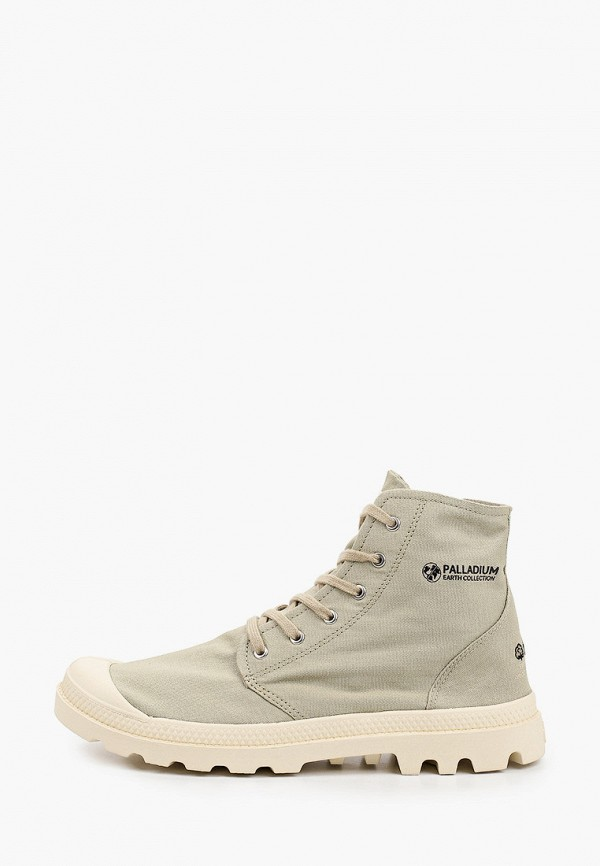 мужские высокие ботинки palladium, хаки