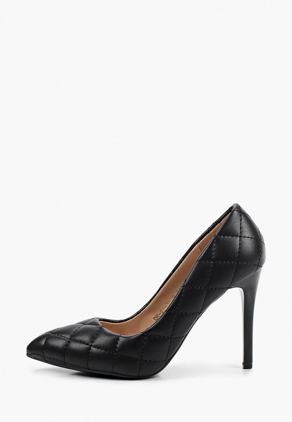 женские туфли-лодочки diora.rim, черные