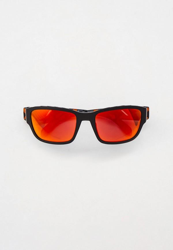 мужские квадратные солнцезащитные очки adidas, оранжевые
