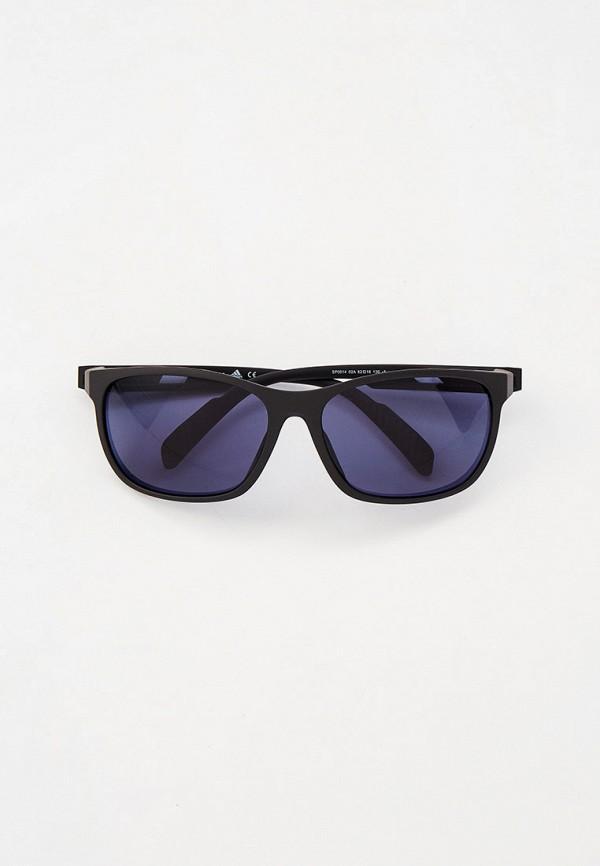 мужские квадратные солнцезащитные очки adidas, синие