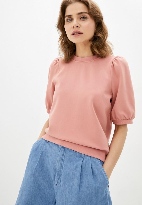 женский свитшот s.oliver, розовый
