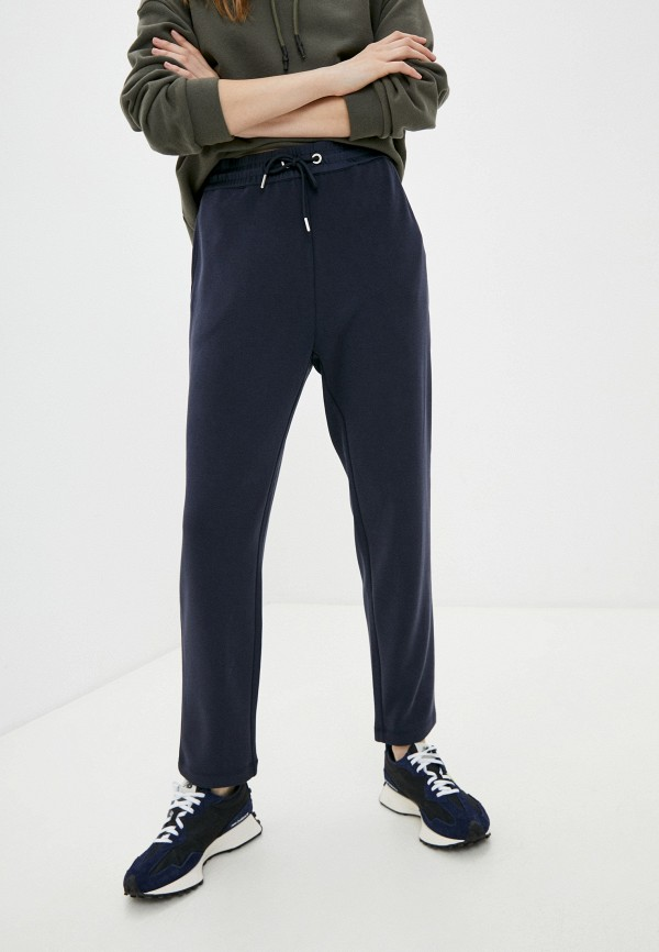 женские брюки джоггеры s.oliver, синие