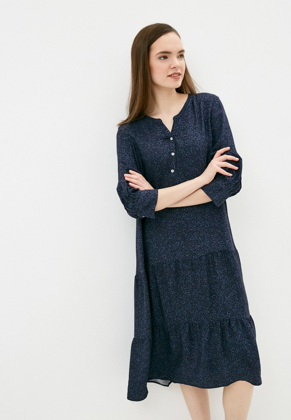 женское повседневные платье s.oliver, синее