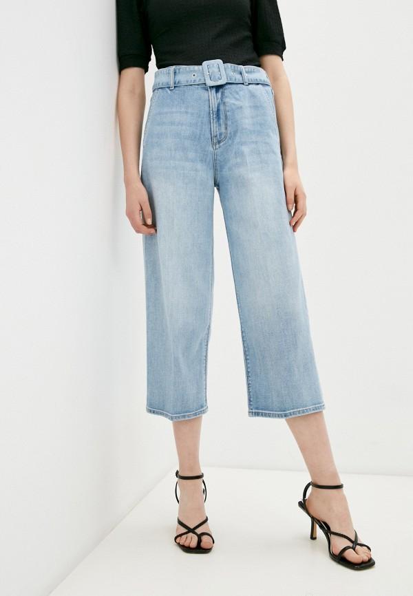 женские джинсы клеш s.oliver, голубые