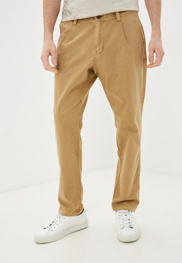 мужские брюки чинос s.oliver, коричневые
