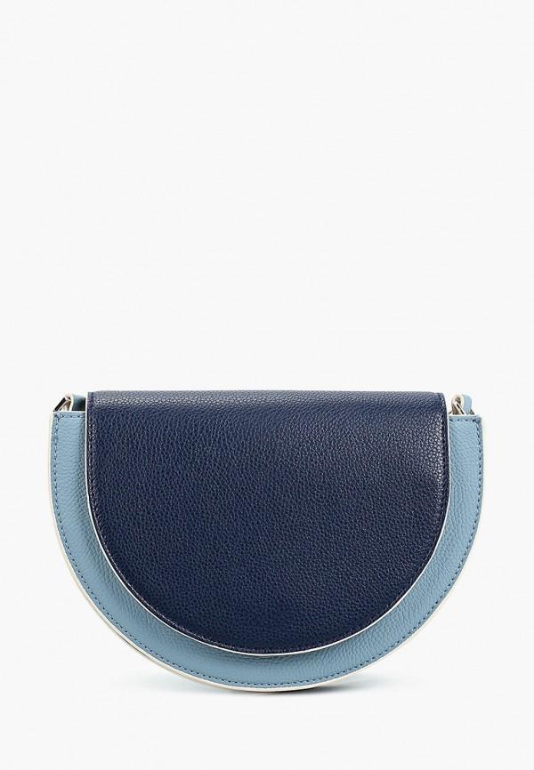женская сумка через плечо s.oliver, синяя