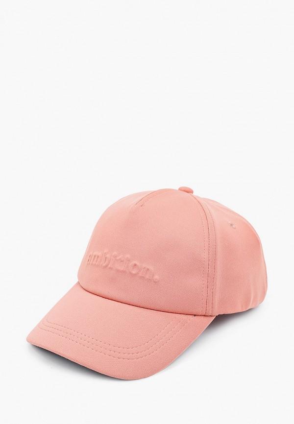 женская бейсболка s.oliver, розовая