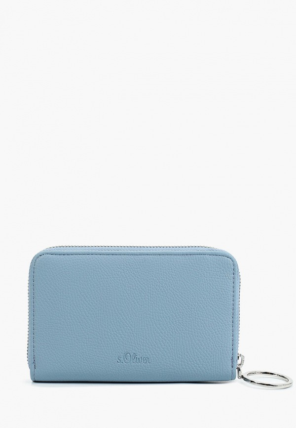 женский кошелёк s.oliver, голубой