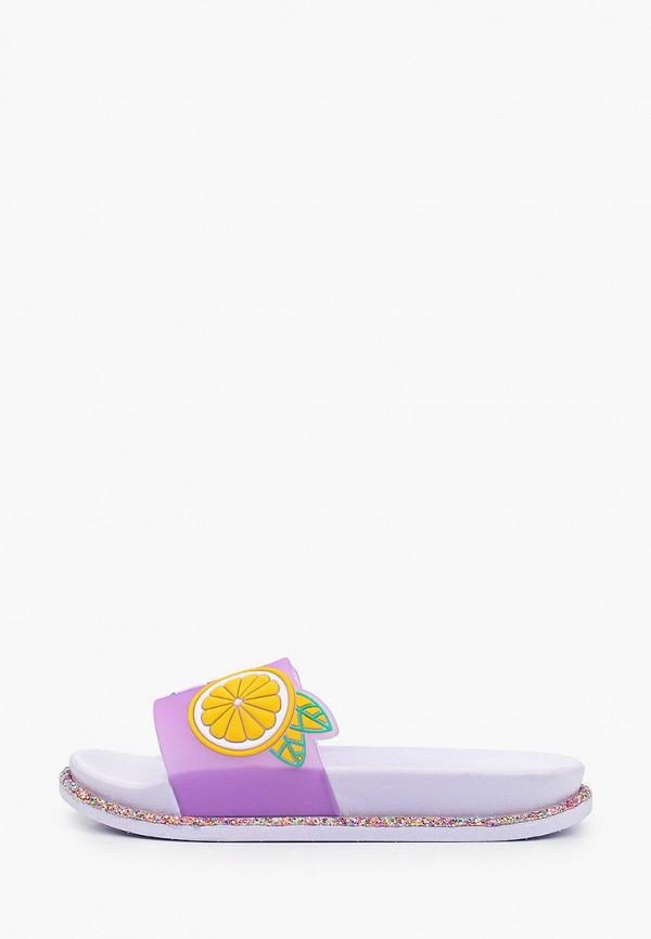 женские сланцы keddo, фиолетовые