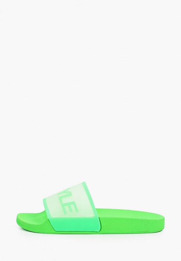 женские сланцы keddo, зеленые