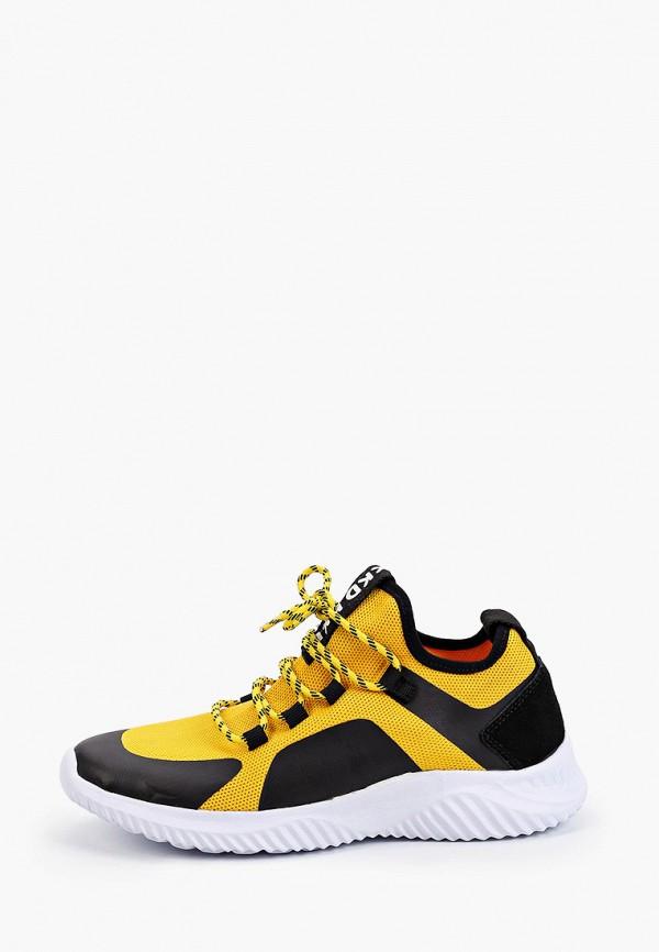 кроссовки kakadu для мальчика, желтые