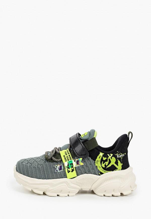кроссовки kakadu для мальчика, зеленые