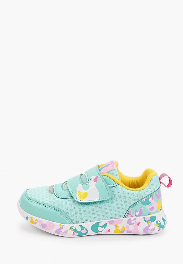 кроссовки kakadu для девочки, бирюзовые