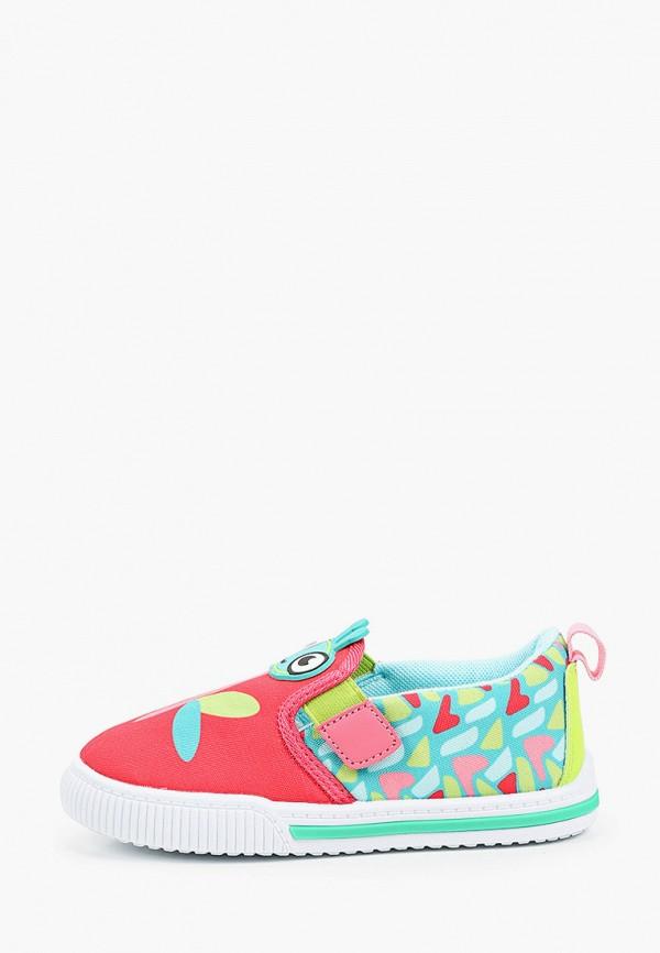 слипоны kakadu для девочки, разноцветные