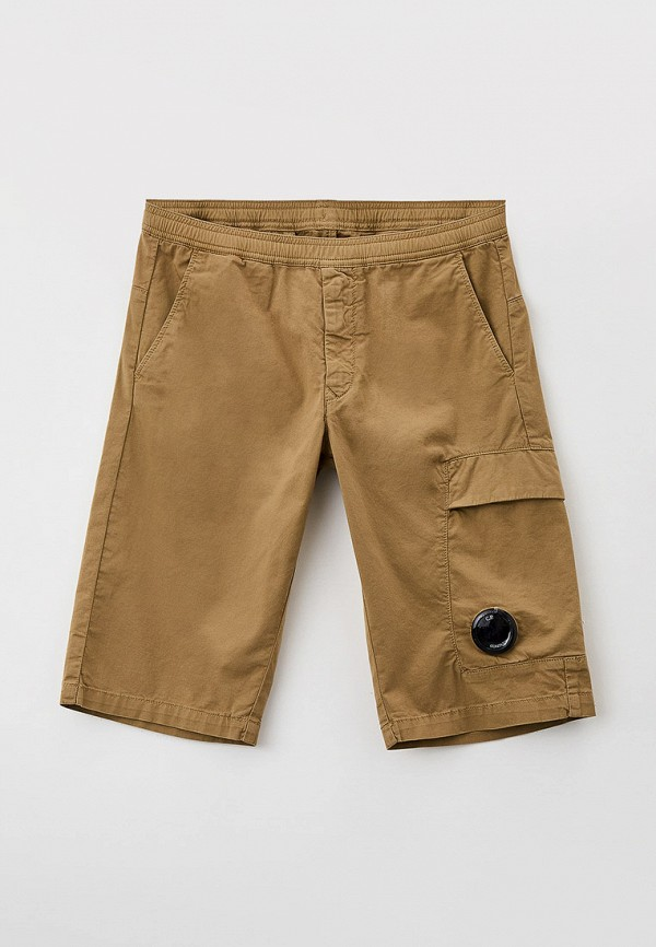 шорты c.p. company для мальчика, бежевые