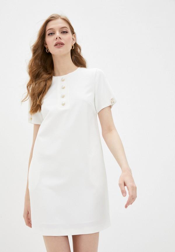 женское повседневные платье pinko, белое