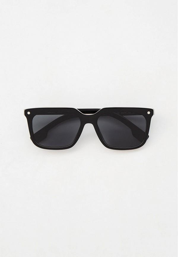 Очки солнцезащитные Burberry черного цвета