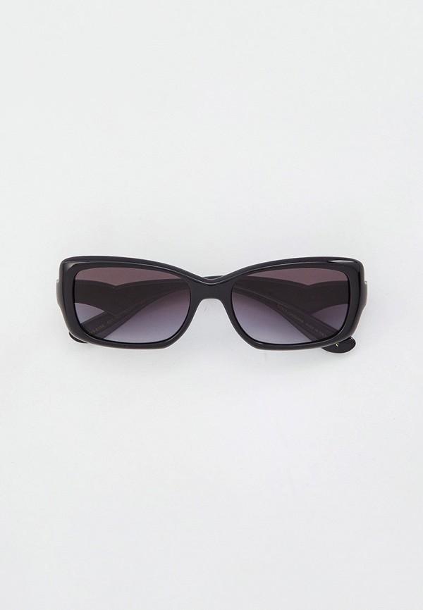 женские квадратные солнцезащитные очки dolce & gabbana, черные