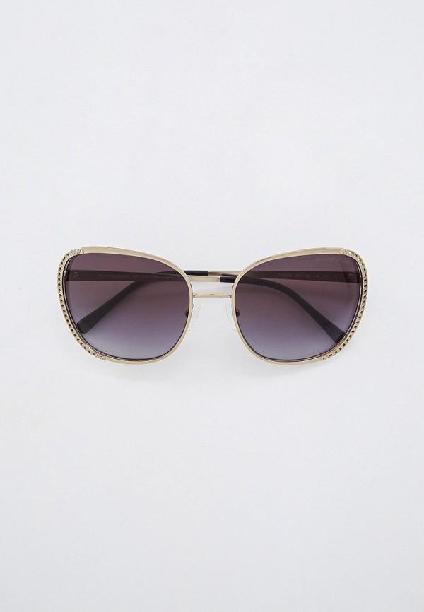 женские квадратные солнцезащитные очки michael kors, серебряные