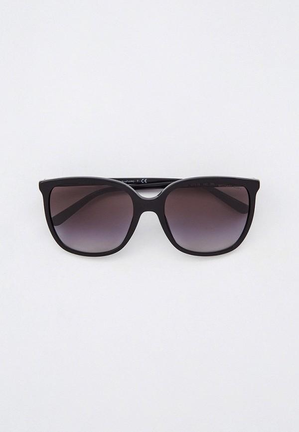 женские квадратные солнцезащитные очки michael kors, черные
