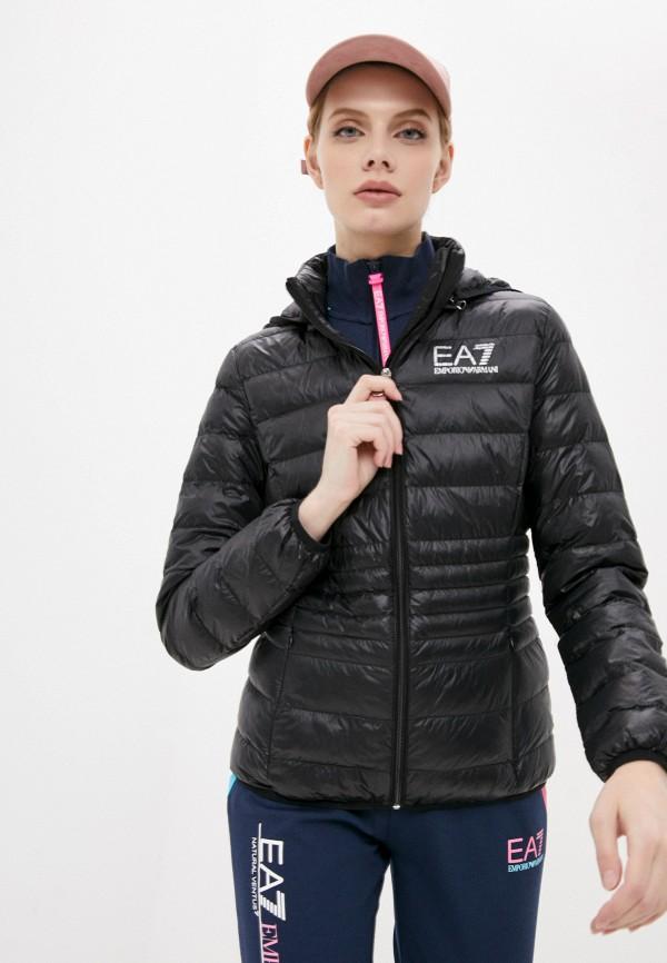 женская спортивные куртка ea7, серебряная