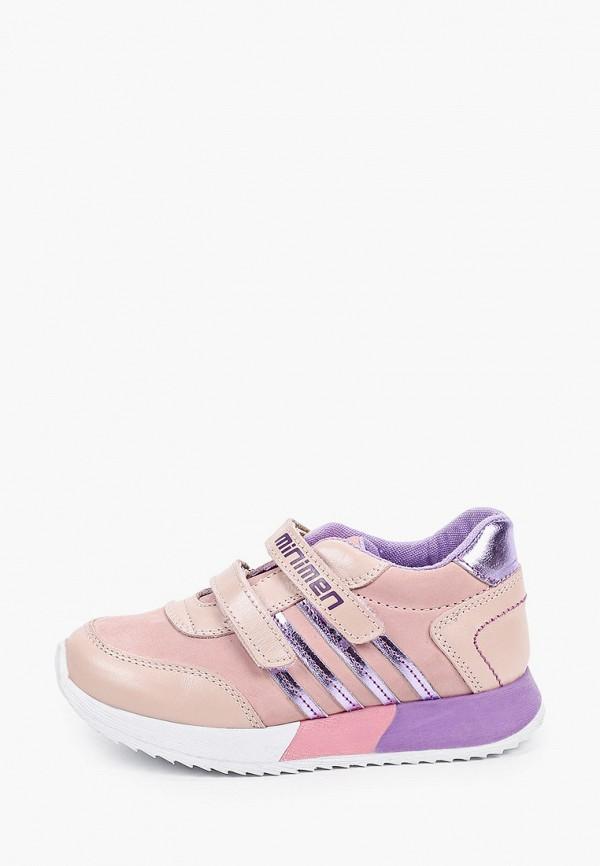кроссовки minimen для девочки, розовые