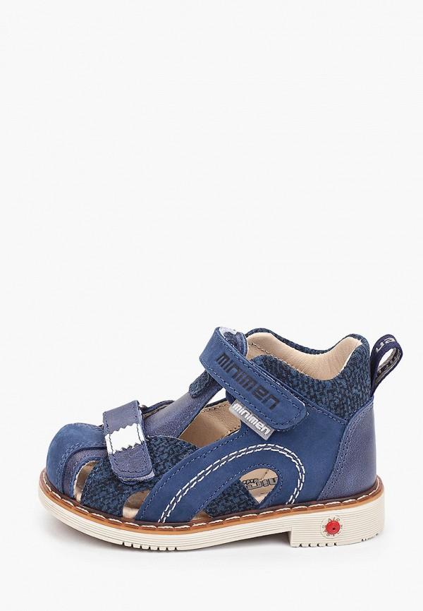 сандалии minimen для мальчика, синие