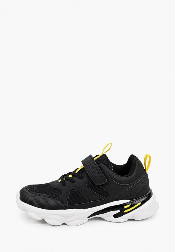 кроссовки qwest для мальчика, черные