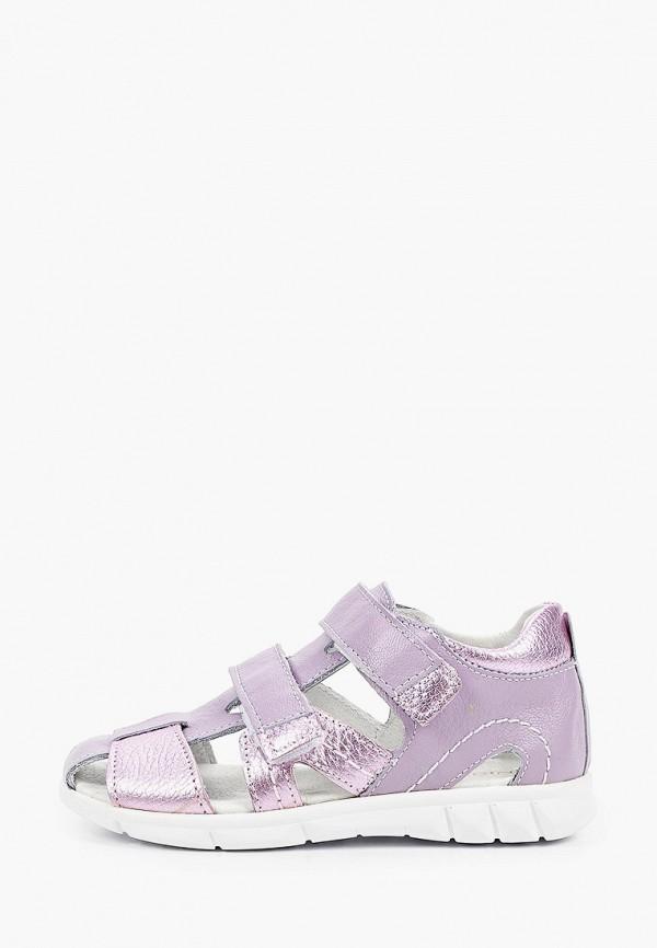 сандалии юничел для девочки, фиолетовые