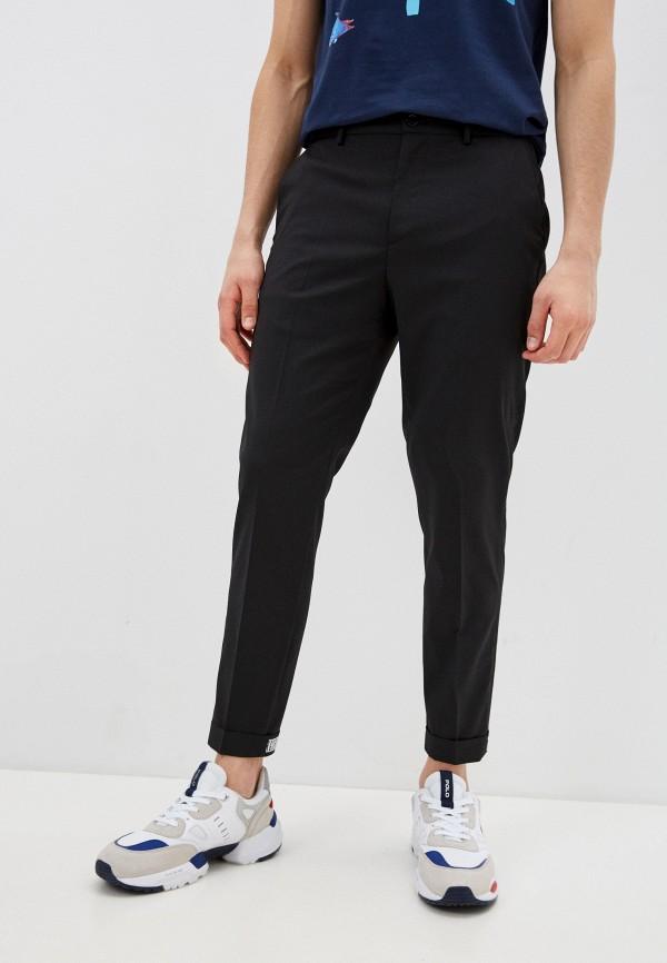 мужские повседневные брюки bikkembergs, черные